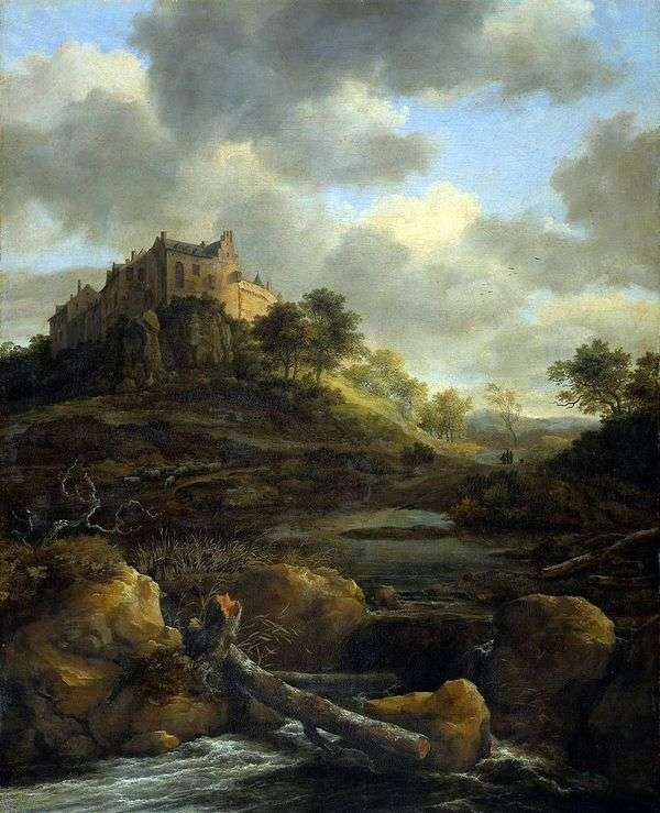 本特海姆城堡   雅各布范瑞斯达尔