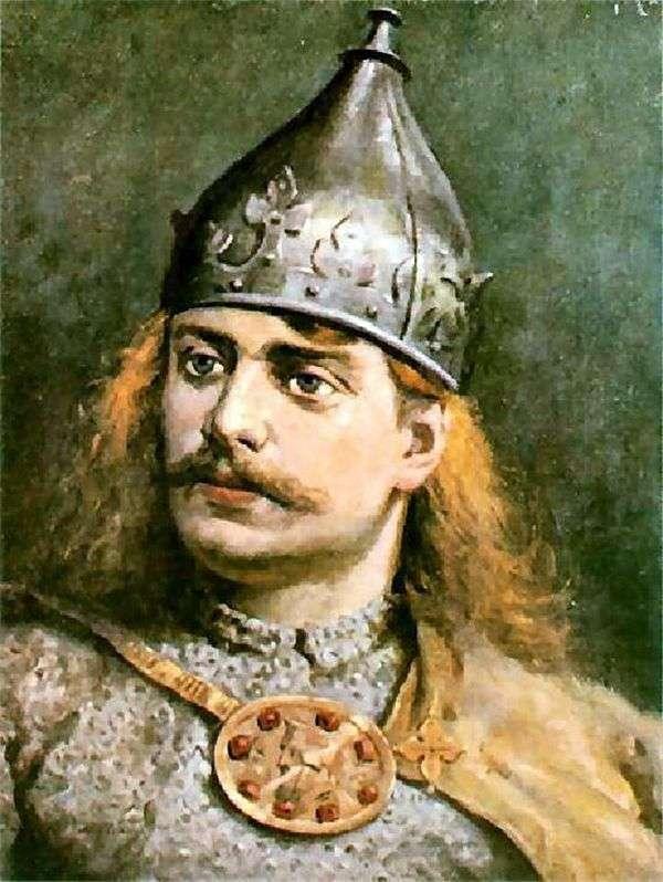 Boleslav III Krivoust的肖像   Jan Aloisy Mateyko