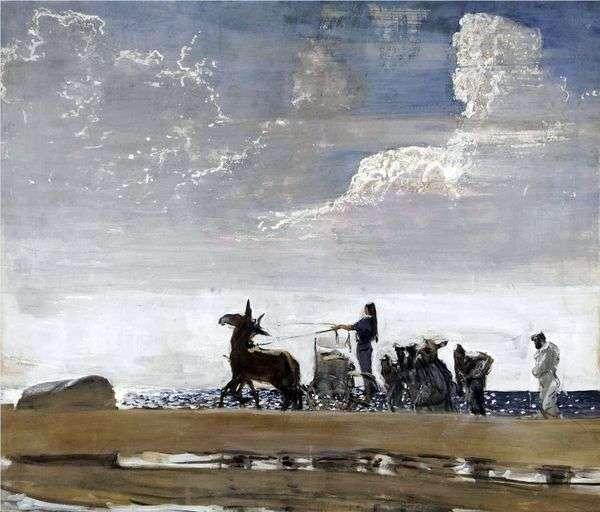 Odyssey和Navzikaya   Valentin Serov
