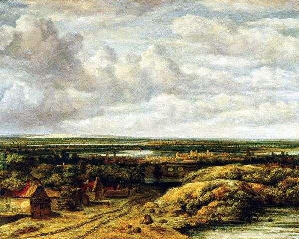 景观与小屋的路   菲利普斯科宁克