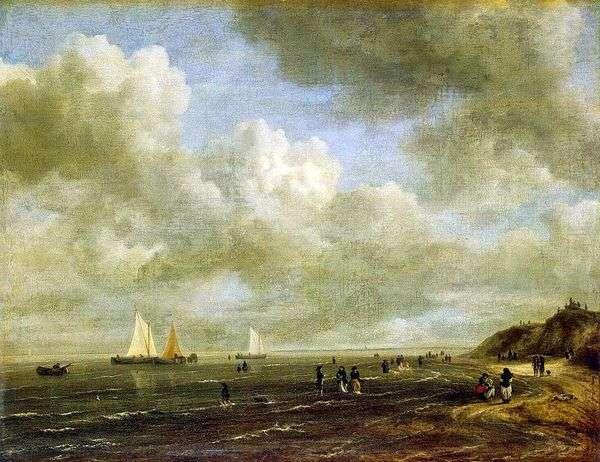 海滨   Jacob van Reisdal