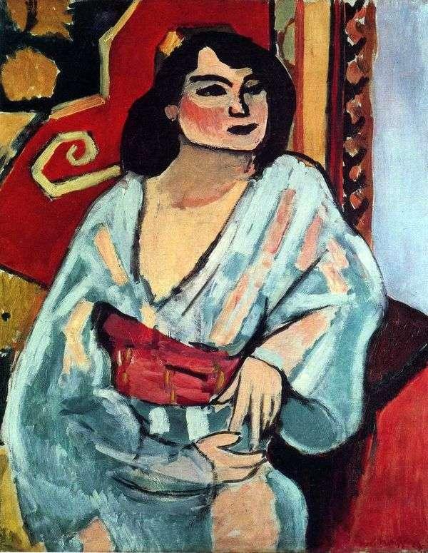 阿尔及利亚女人   亨利马蒂斯