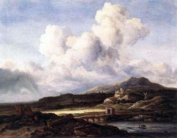 全景图   Jacob van Ruisdal