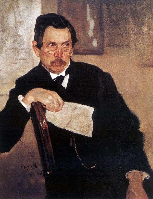 A. V. Kasyanov的肖像   Valentin Serov