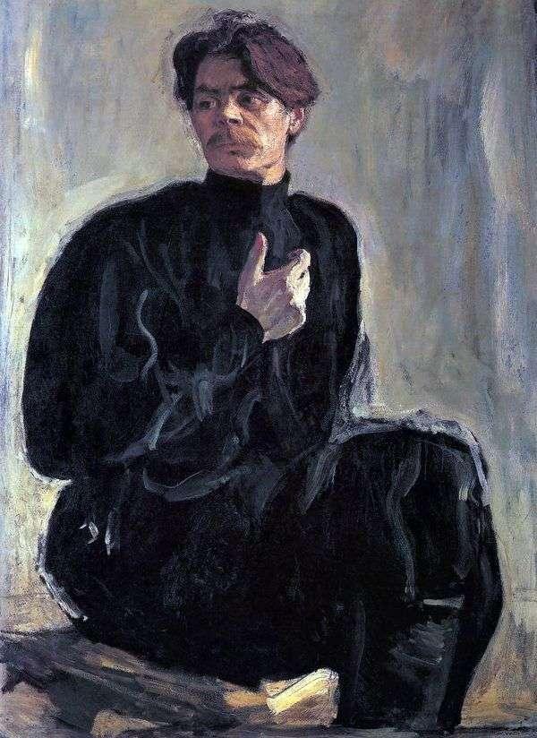 A. M. Gorky的画像   Valentin Serov