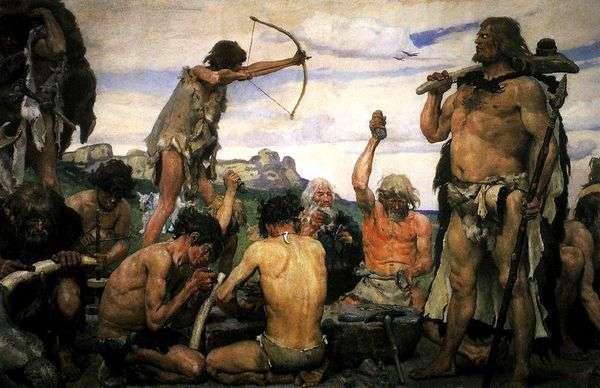 石器时代   Victor Vasnetsov