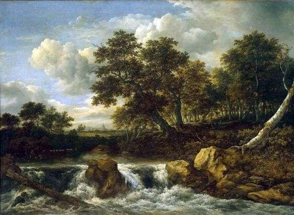 景观与瀑布   雅各布范瑞斯达尔