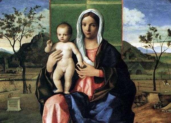 麦当娜和儿童祝福   乔瓦尼贝利尼