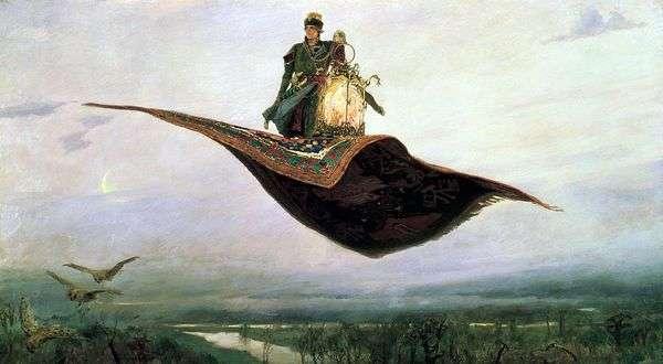 地毯飞机   Victor Vasnetsov