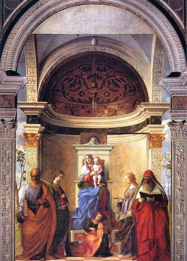 麦当娜和圣徒的孩子   乔瓦尼贝利尼