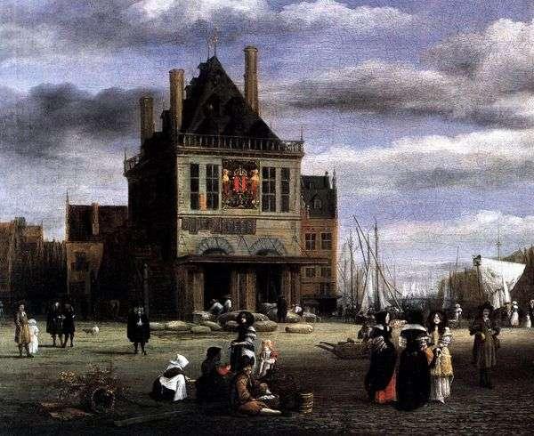 阿姆斯特丹广场   雅各布范瑞斯达尔