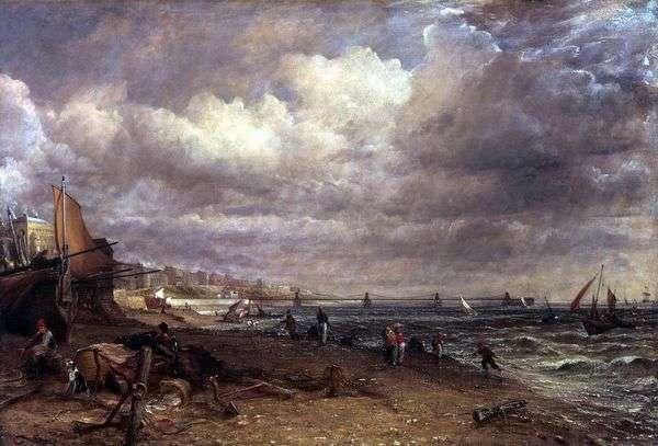 约翰康斯特布尔的布赖顿码头