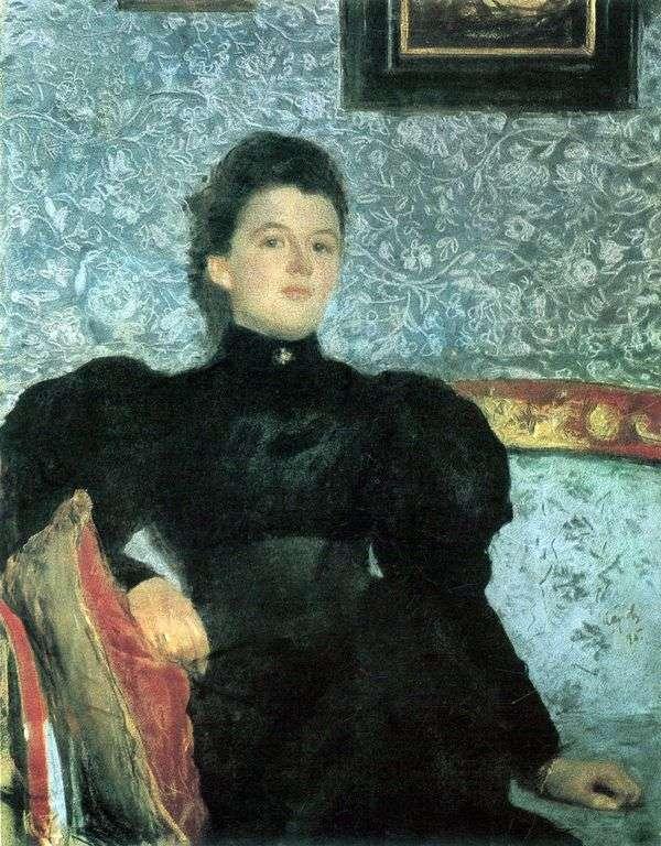 伯爵夫人V. V. 穆西纳   普希金纳的肖像   瓦伦丁塞罗夫