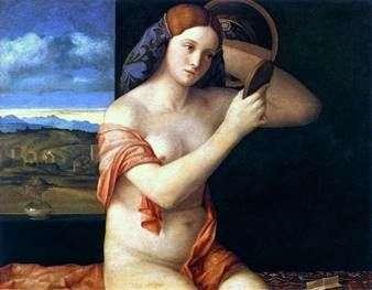 在洗手间后的少妇   乔凡尼Bellini
