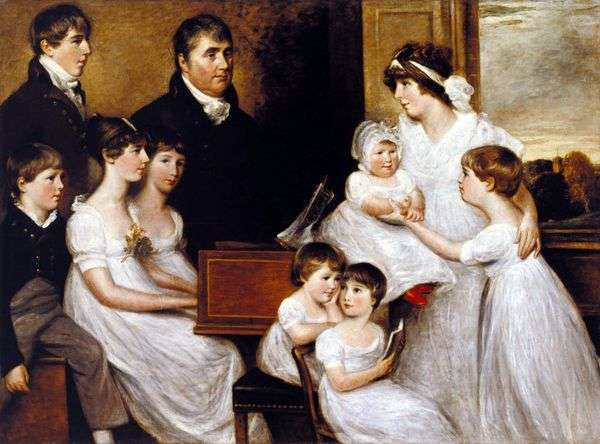 Bridges Family   John Constable