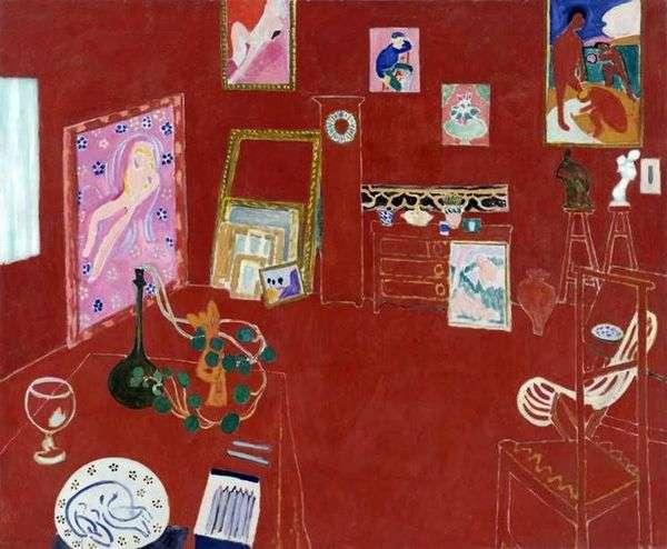 红色工作室   亨利马蒂斯