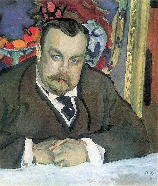 I. A. Morozov的肖像   Valentin Serov