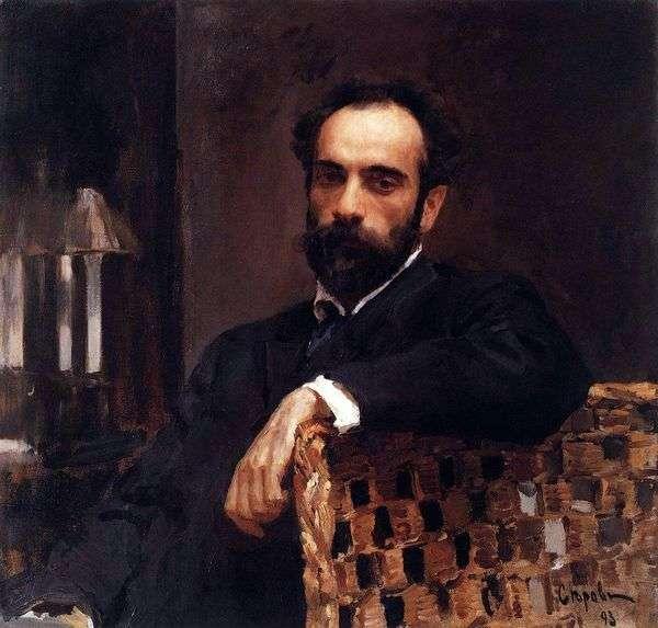 I. I. Levitan   Valentin Serov的肖像