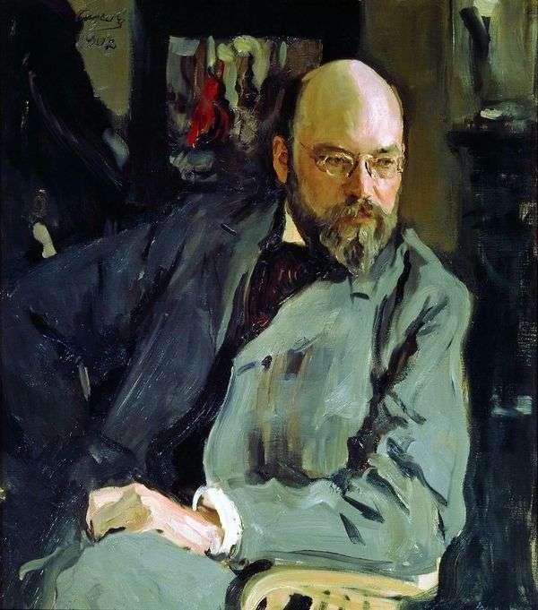 I. S. Ostroukhova   Valentin Serov的肖像