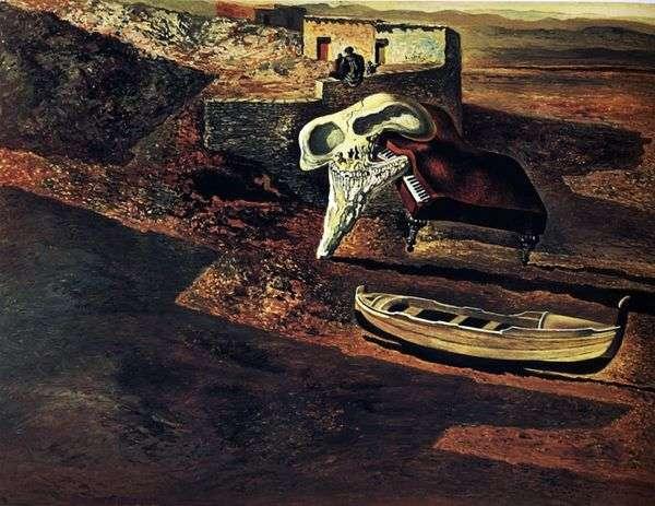 蒸发的头骨在代码上对钢琴进行了鸡奸   萨尔瓦多 达利