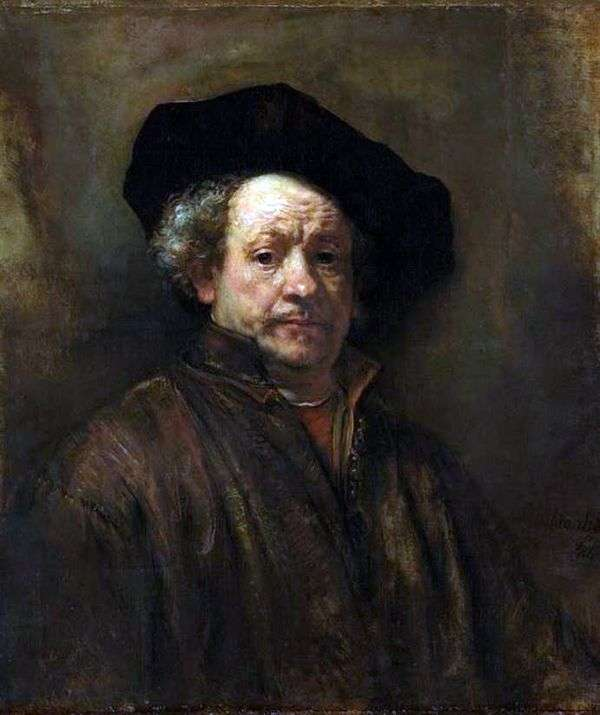 54岁的自画像   Rembrandt Harmens Van Rhine