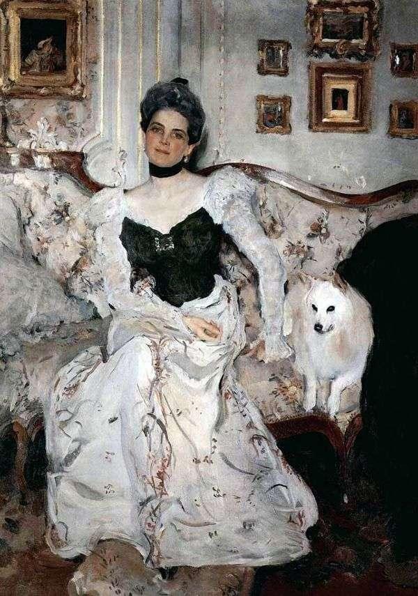 Z. N. Yusupova公主的肖像   Valentin Serov