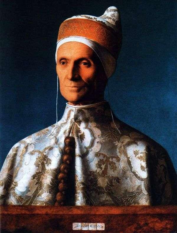 总督莱昂纳多Loredana   乔瓦尼贝利尼的肖像