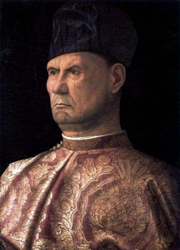 Condottiere Giovanni Emo   Giovanni Bellini的肖像
