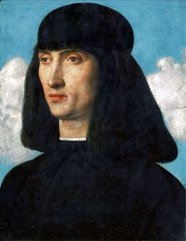 一个年轻人的画象   乔瓦尼Bellini