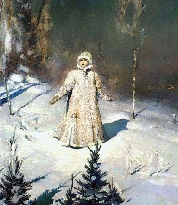 雪少女   Viktor Vasnetsov