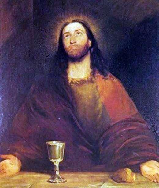 基督圣餐面包和酒   约翰康斯特布尔