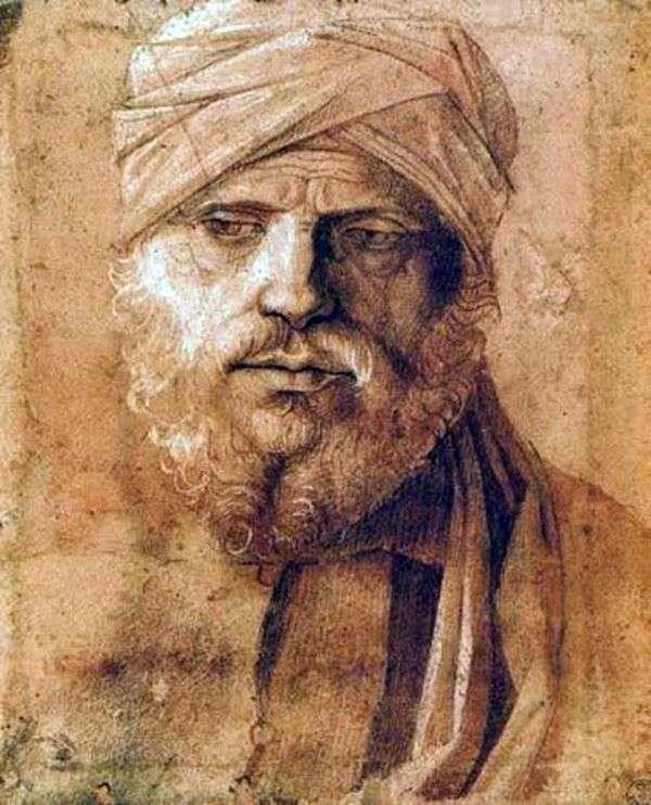 一个人的画象头巾的   乔凡尼Bellini