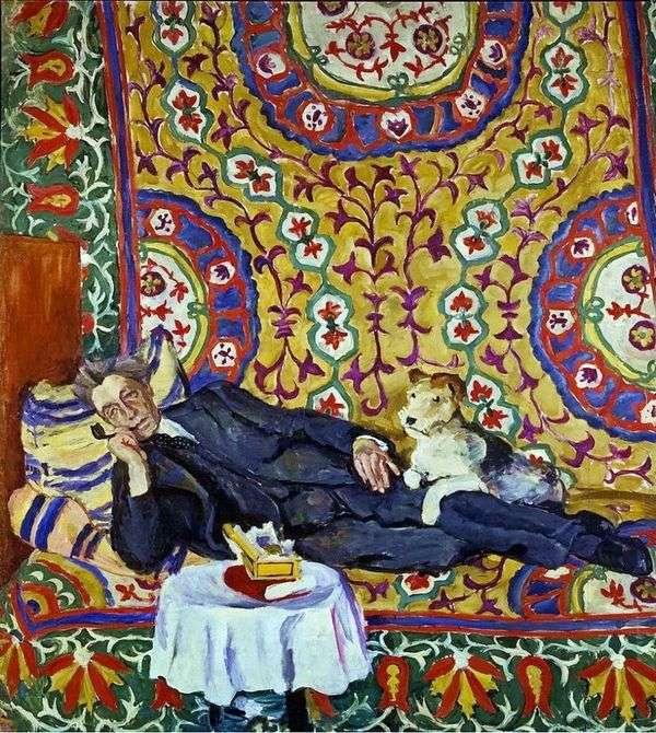 V. E. Meyerhold的肖像   Petr Konchalovsky