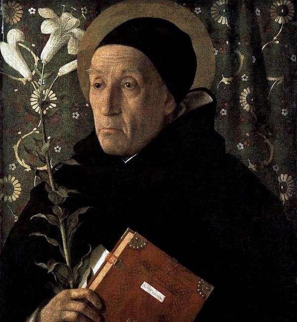 Fra Theodoro da Urbino   Giovanni Bellini的肖像