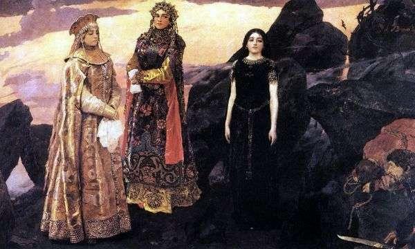 黑社会的三位公主   Victor Vasnetsov