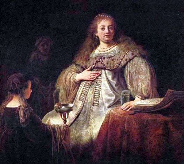 Artemis   Rembrandt Harmens Van Rhine