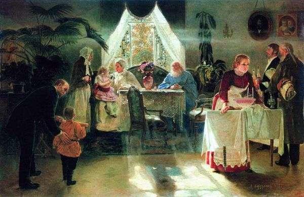 奶奶的假期   阿列克谢Korzukhin