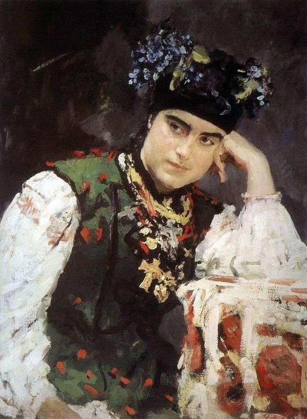 S. M. Dragomirova的肖像   Valentin Serov