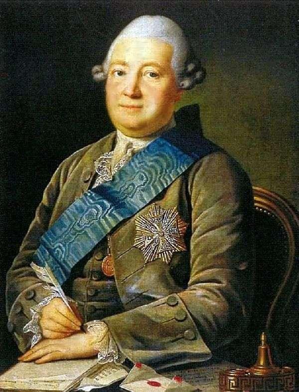 Adam Vasilyevich Olsufiev的肖像   Karl Ludwig Khristinek