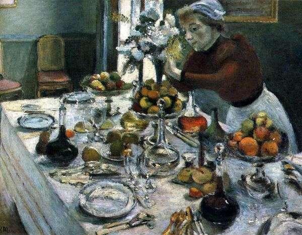 餐桌   亨利马蒂斯