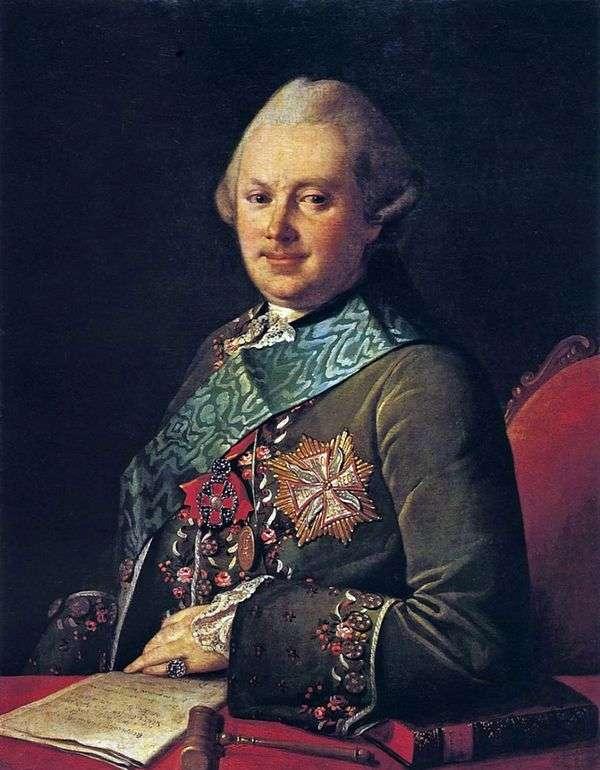 A. A. Vyazemsky王子的肖像   Karl Ludwig Hristinek