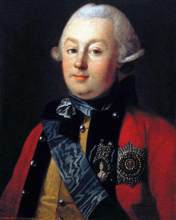 G. G. Orlov王子的画像   Karl Ludwig Hristinek