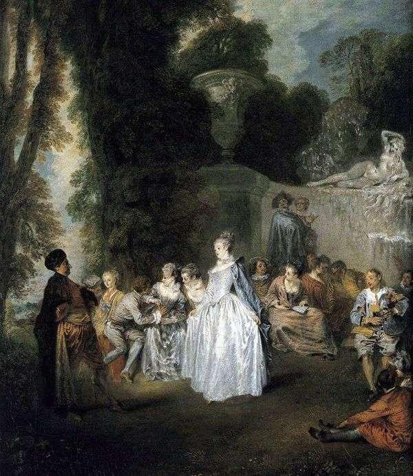 威尼斯假日   Jean Antoine Watteau