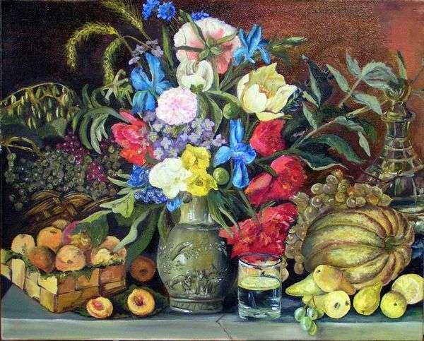 鲜花和水果   伊万克鲁茨基
