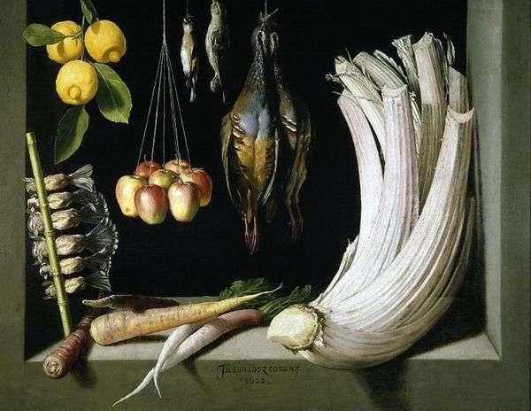 静物与游戏   蔬菜和柠檬,桑切斯胡安科坦