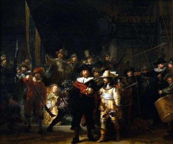步枪公司的演讲   Rembrandt Harmens Van Rhine