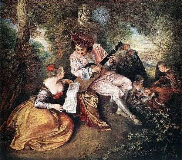 Gamma Love   Jean Antoine Watteau