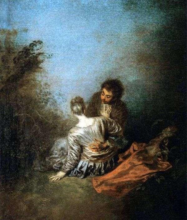 致命错误(运气)   Jean Antoine Watteau
