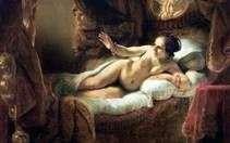 Danae   Rembrandt Harmens Van Rhine
