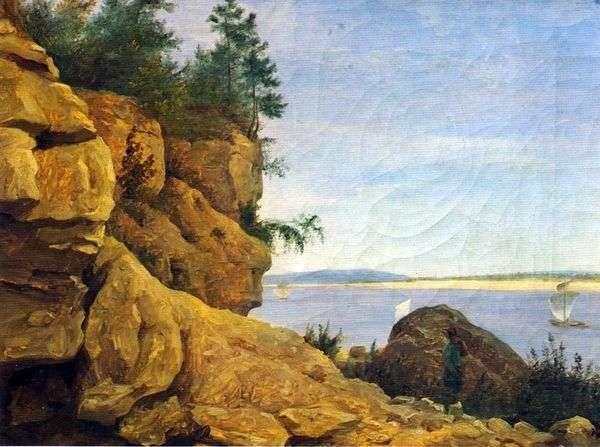 在伏尔加河上。茨。研究   Grigory G. Chernetsov